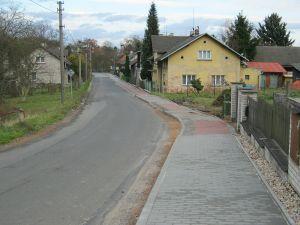 Chodník v obci Radimovice III – 2. etapa