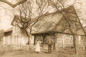 Radimovice - dům Jenšovských 1911
