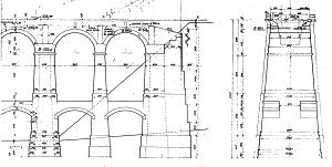 Viadukt - nákres