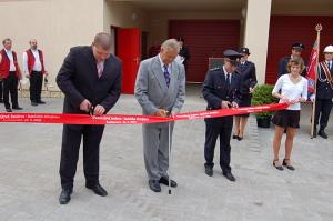70 let hasičů - Slavnostní otevření Víceúčelové budovy